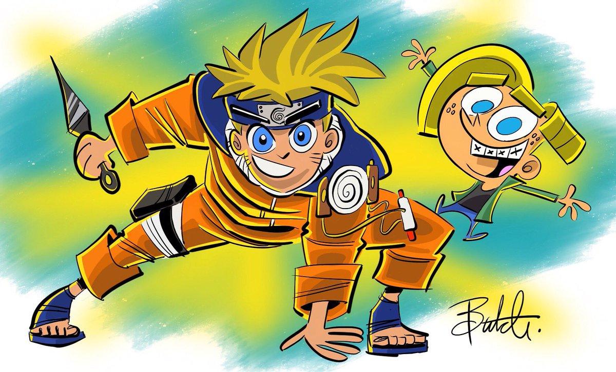 Fairly Oddparents Creator Shares Naruto Crossover Naruto Tho Find the newest naruto crossover meme. naruto tho